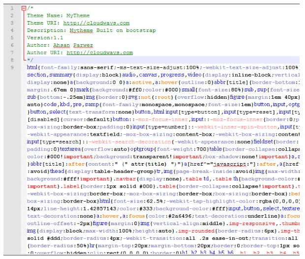 файл bootstrap
