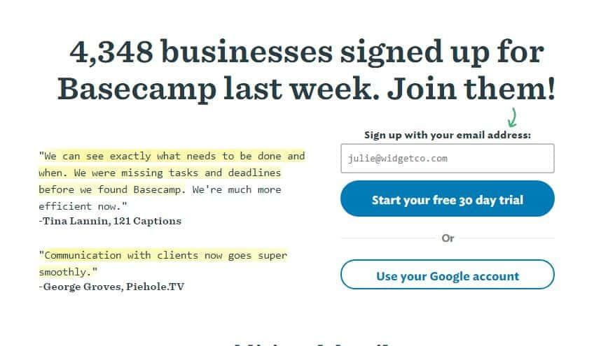 basecamp-free-trial