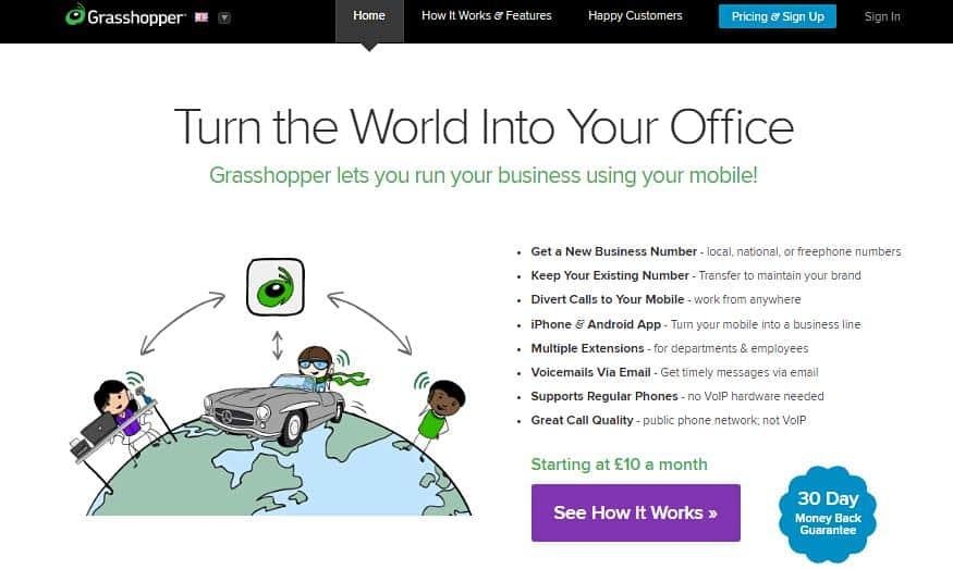 grasshopper-homepage