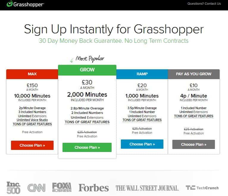 grasshopper price