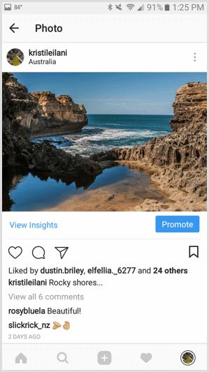 реклама в инстаграме
