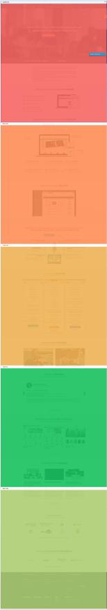 Анализ активности пользователей на разных экранах страницы